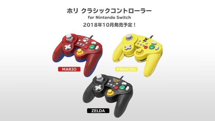 Nuovi GameCube Classic Controller da Hori