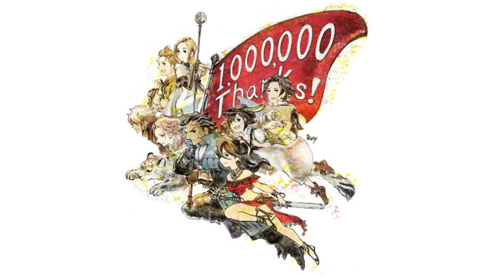 Octopath Traveler Ha già Venduto 1 Milione di Copie