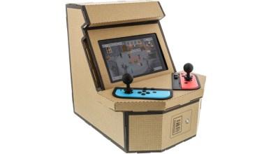 Retro Arcade Cabinet Nintendo Switch Labo
