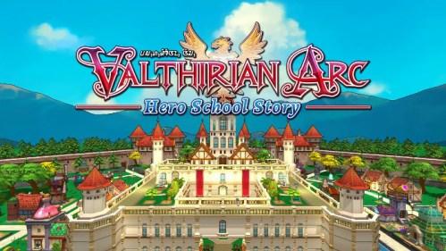 Valthirian Arc Hero School Story Nintendo Switch