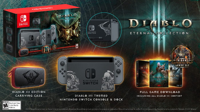 Un Bundle  Di Nintendo Switch per Diablo III