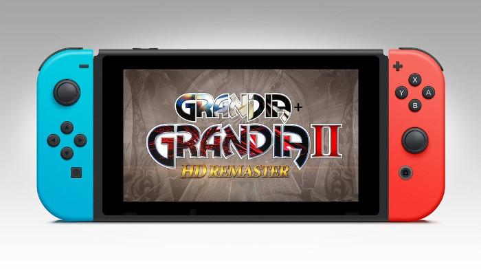 Grandia I II HD Remaster Nintendo Switch