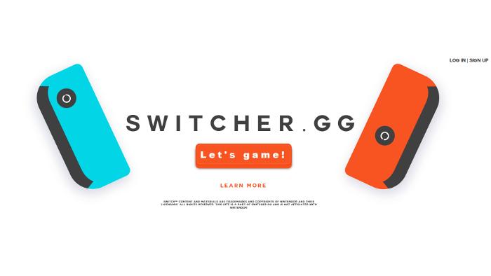 Switcher, un  Sito per Giocare in Multiplayer con Nintendo Switch