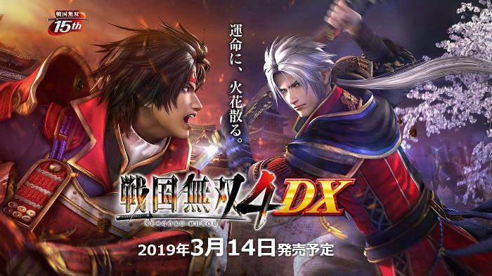 Samurai Warriors 4 DX Annunciato per Nintendo Switch
