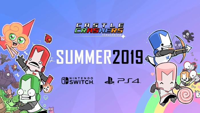 Castle Crashers Remastered Confermato per Nintendo Switch