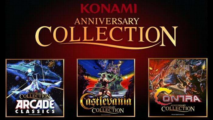 Konami Anniversary Collection Annunciato per Nintendo Switch