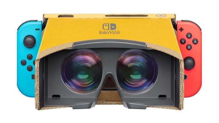 Ecco Alcuni Giochi di Nintendo Labo VR Kit