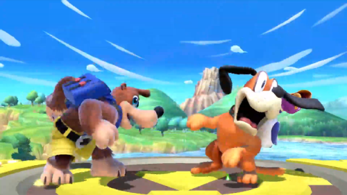 Banjo Kazooie Super Smash Bros Ultimate Nintendo Switch 1