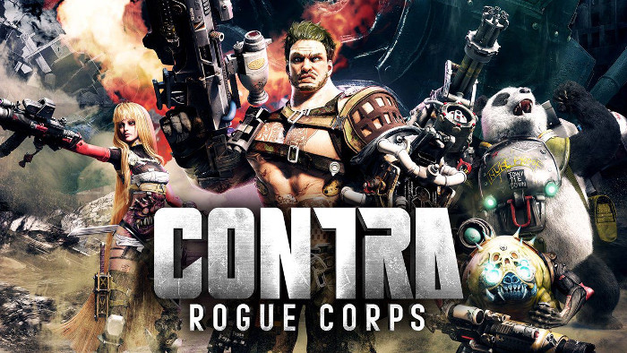 Annunciato Contra: Rouge Corps per Nintendo Switch