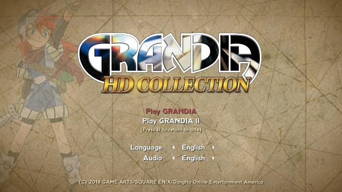 Grandia HD Collection Utilizza il Codice per PlayStation e il Resto dal Sega Saturn