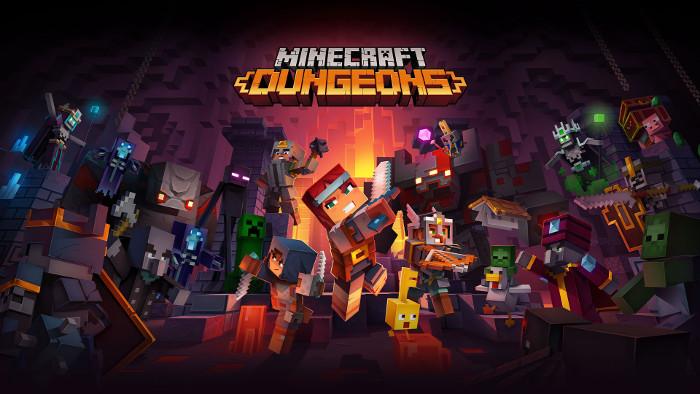 Minecraft Dungeons Arriverà su Nintendo Switch nella Primavera del 2020