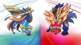 Pokémon Sword e Pokémon Shield Zacian Zamazenta Nintendo Switch