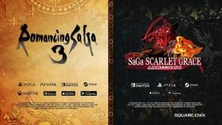 Romancing SaGa 3 Remaster SaGa Scarlet Grace: Ambitions Nintendo Switch