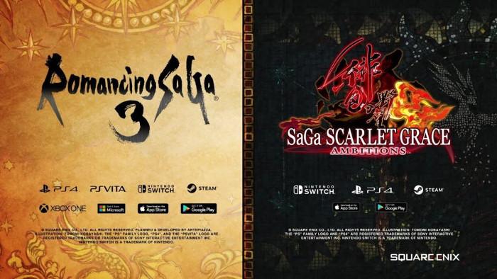 Square Enix Mostra Romancing SaGa 3 Remaster e SaGa Scarlet Grace