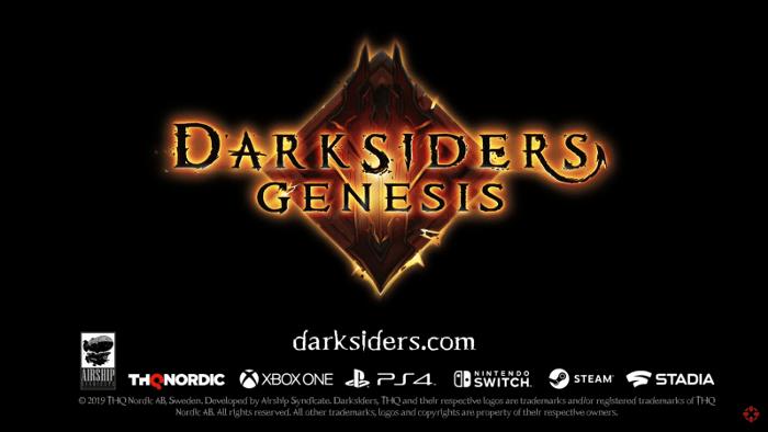 Annunciato Darksiders Genesis per Nintendo Switch