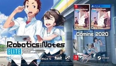 Robotics;Notes Elite Nintendo Switch