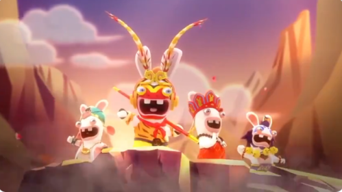 Raving Rabbids Nintendo Switch