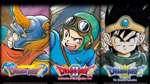 Dragon Quest I II III Nintendo Switch