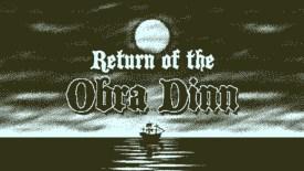 Return of the Obra Dinn Nintendo Switch