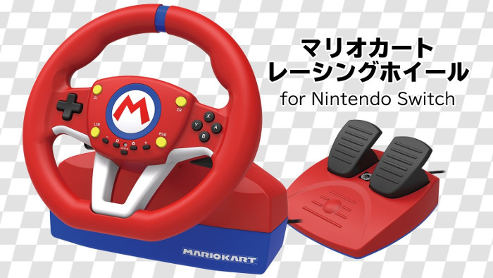 Mario Kart Racing Wheel Nintendo Switch