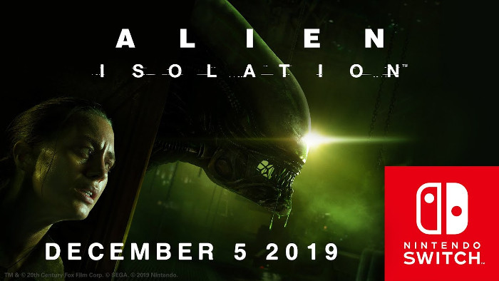 Alien: Isolation Arriva su Nintendo Switch il 5 Dicembre