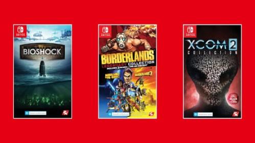 2K Games Bioshock Colelction Borderlands Legendary Collection XCOM 2 Collection Nintendo Switch