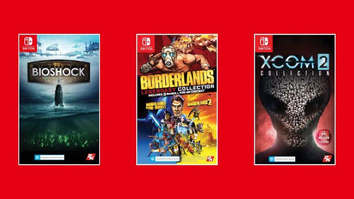 Tre Serie di 2K Games in Arrivo su Nintendo Switch a Maggio