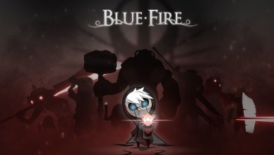 Blue Fire Nintendo Switch