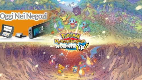 Oggi Nei Negozi Pokemon Mystery Dungeon Rescue Team DX Nintendo Switch