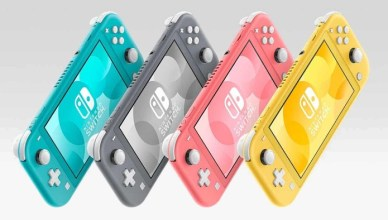 Pink Coral Nintendo Switch Lite