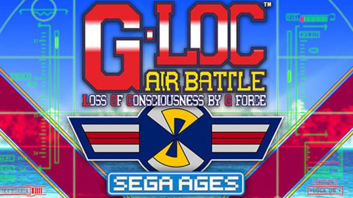 Sega Ages G-LOC Air Battle Arriverà il 30 Aprile
