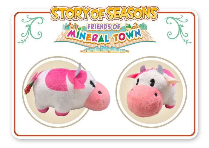 Story of Seasons Friends of Mineral Town Strawberry Cow Nintendo Switch