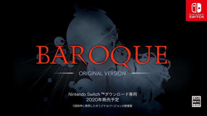 Baroque: Original Version Arriva su Nintendo Switch