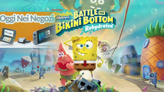 Oggi nei Negozi: SpongeBob SquarePants: Battle for Bikini Bottom – Rehydrated