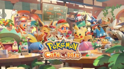 Pokémon Café Mix Nintendo Switch