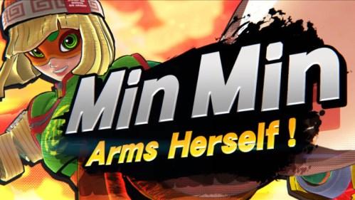 Super Smash Bros Ultimate Min Min Nintendo Switch