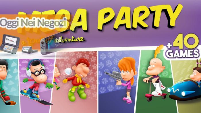 Oggi Nei Negozi: Mega Party A Tootuff Adventure