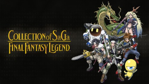 Collection of SaGa Final Fantasy Legend Nintendo Switch