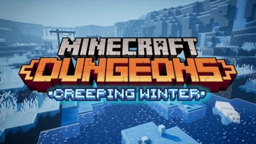Minecraft Dungeons Creeping Winter Nintendo Switch