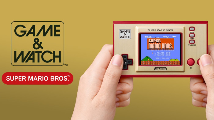 Annunciato Game & Watch Super Mario Bros.