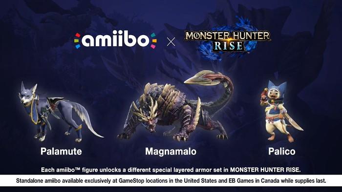 Monster Hunter Rise Amiibo Nintendo Switch