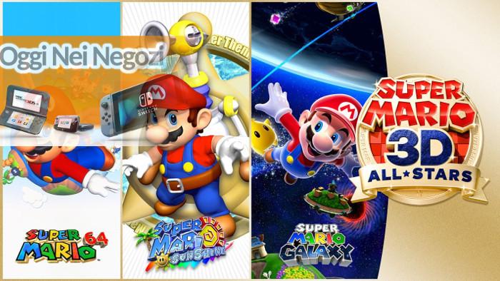 Oggi nei Negozi: Super Mario 3D All-Stars
