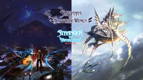 Saviors of Sapphire Wings & Stranger of Sword City Revisited Nintendo Switch
