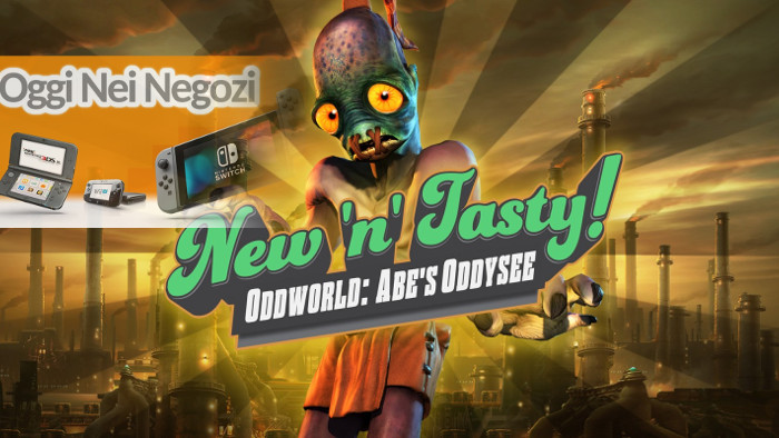 Oggi nei Negozi: Oddworld: New 'n' Tasty