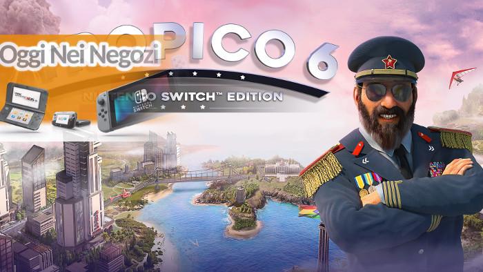 Oggi nei Negozi: Tropico 6 – Nintendo Switch Edition
