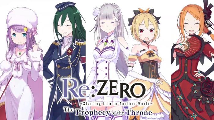 I Personaggi di Re:Zero: The Prophecy of the Throne