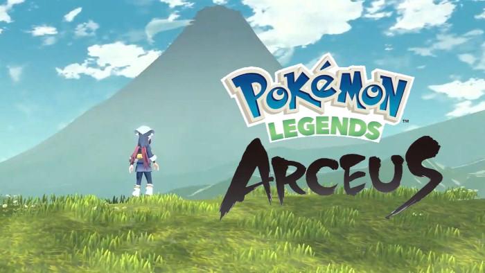Annunciato Pokémon Legends Arceus