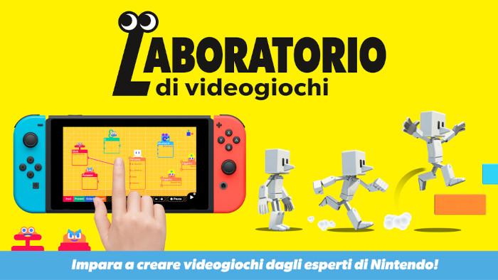 Nintendo Ha Presentato Laboratorio di Videogiochi per Nintendo Switch