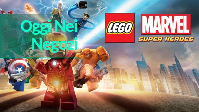 Oggi nei Negozi: LEGO Marvel Super Heroes
