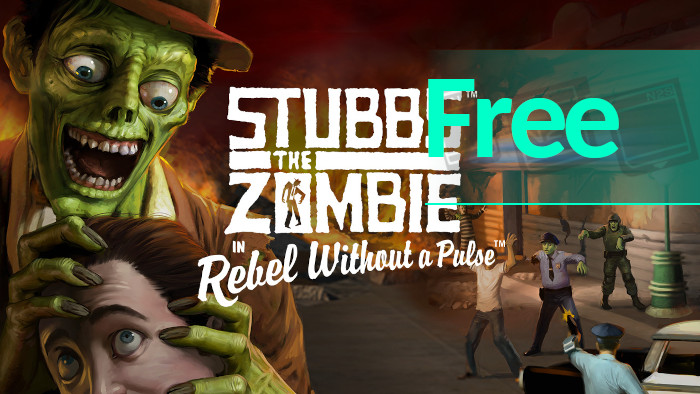 Stubbs the Zombie in Rebel Without a Pulse – Epic Games Store